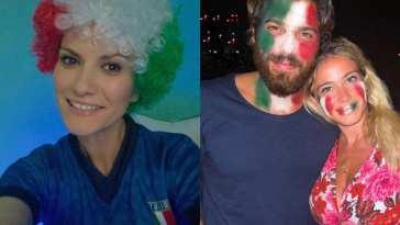 Europei, l'Italia ha vinto ed è la ripartenza per la Nazione: il tifo e la gioia dei VIP, da Laura Pausini a Can e Diletta Leotta [FOTO]
