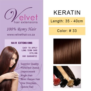 Keratin Hair Extension - Color #33