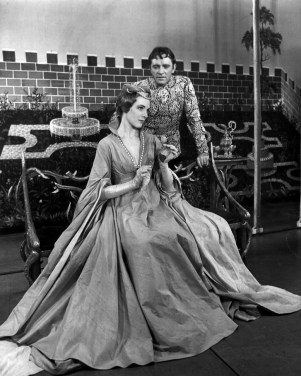 Julie Andrews and Richard Burton in 'Camelot'