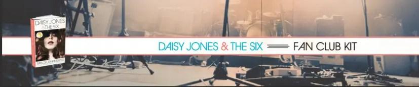 Daisy Jones & the Six - Fan Club Kit