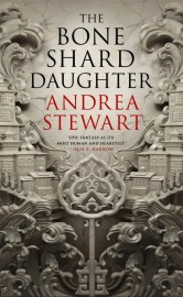 The fifth of 5 Spooky Books That Aren't Too Scary is The Bone Shard Daughter by Andrea Stewart