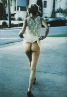 davide sorrenti-bare-bum-white-lace