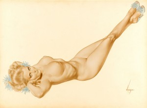 original-ALBERTO-VARGAS-pinup-nude-art