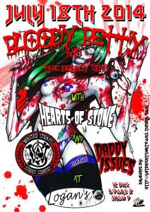 bloody betty & the deadly sins