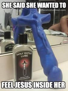 Jesus Dildo