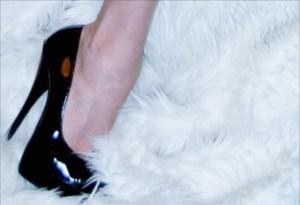 Shoe fur