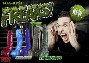 wacky-wednesday-Fleshlight-Freaks-dildos