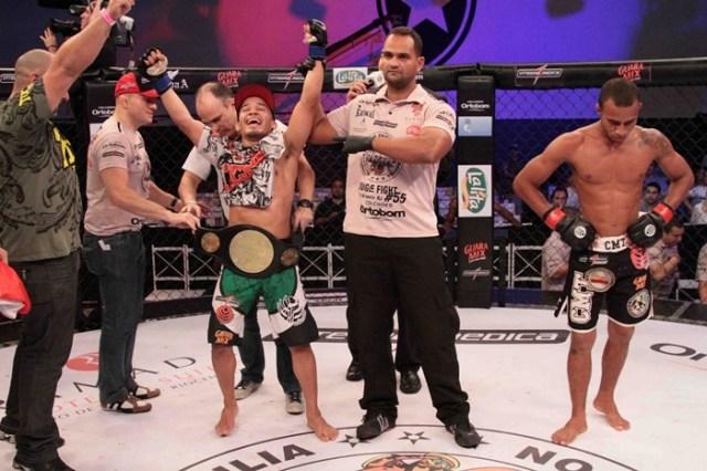 MMA - Júnior Boya - campeão do Jungle Fight - by Fernando Azevedo