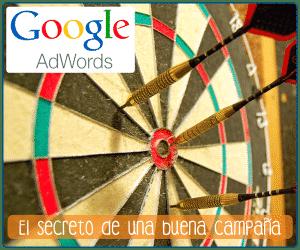 Creación y gestión de campañas en Google AdWords para páginas web.