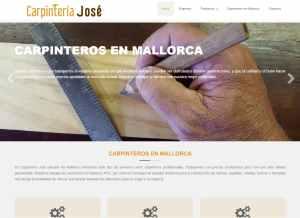 Web de Carpintería José Echevarría