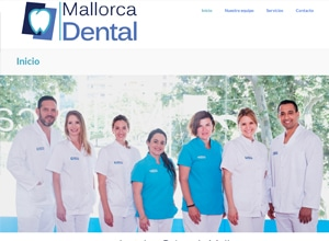 Diseño web Mallorca - Mallorca Dental