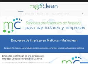 Diseño web Mallorca - Mallorclean