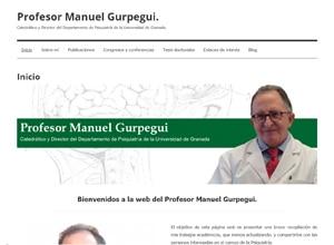 Diseño web Mallorca - Profesor Manuel Gurpegui