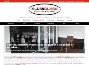 Diseño web Mallorca - Alumiglass