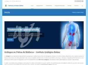 Diseño web Mallorca - Instituto Urológico Balear