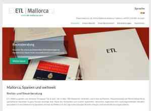 Diseño web Mallorca - ETL Mallorca