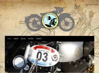 Diseño web Motos Històriques de Mallorca - Desarrollo web para clubs y asociaciones