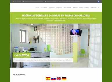 Diseño web Urgencias Dentales Mallorca - Desarrollo web para clínicas