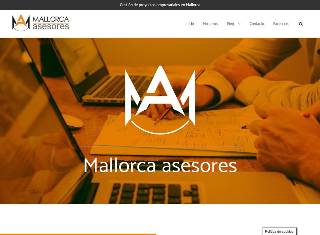 Diseño web para asesorías en Mallorca - Mallorca Asesores