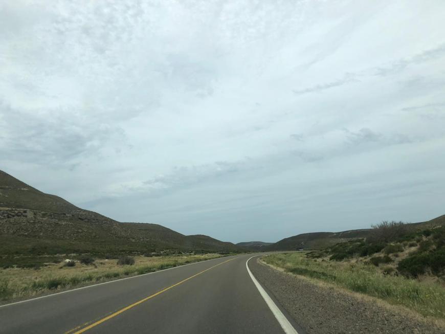 estrada Trelew a Rio Gallegos