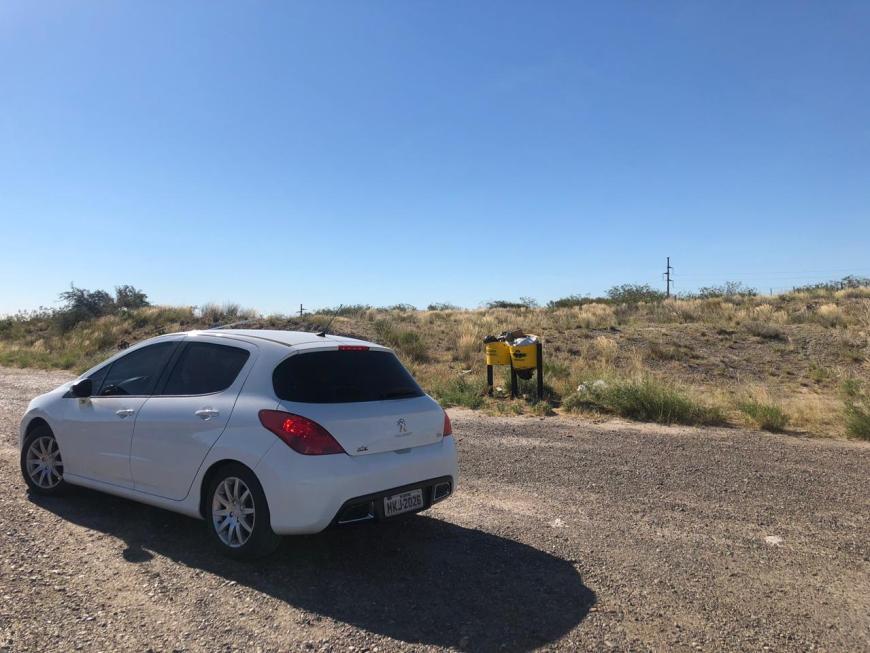 área de descanso estrada trelew