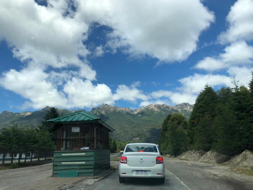 Guarita Aduana Argentina Bariloche