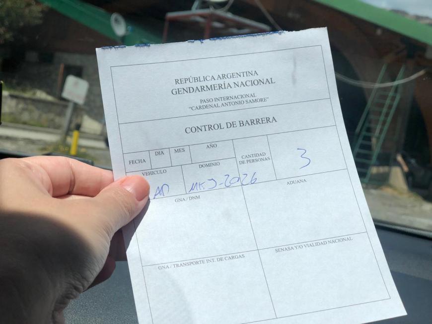 Aduana Argentina Bariloche