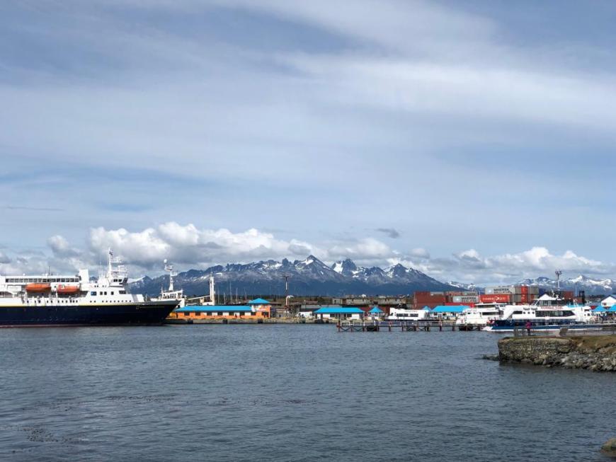 navio no ushuaia