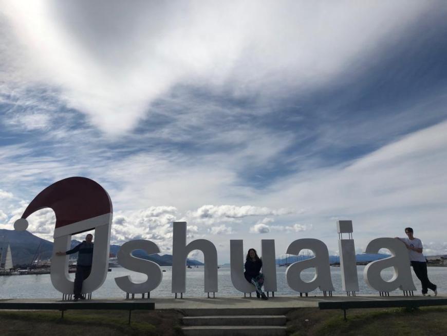 letreiro Ushuaia