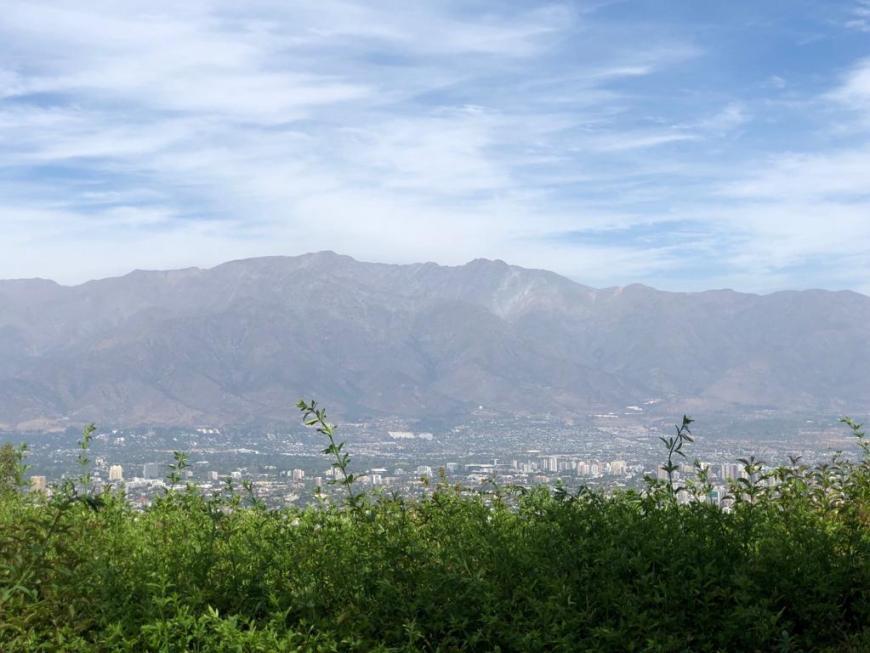 Vista do Cerro San Cristóbal