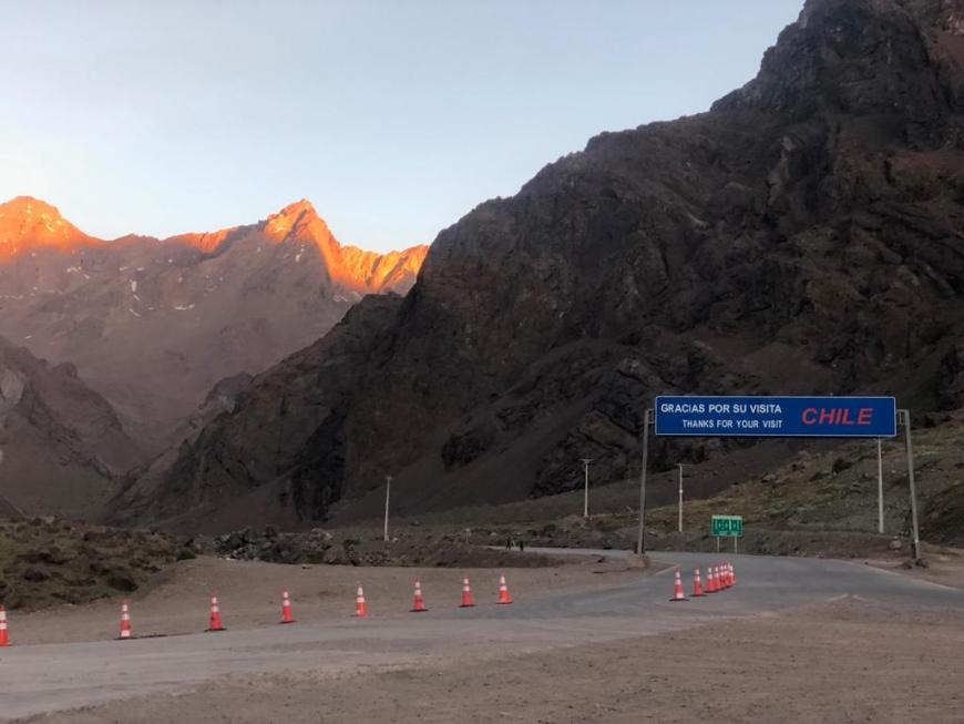 Fronteira Chile e Argentina