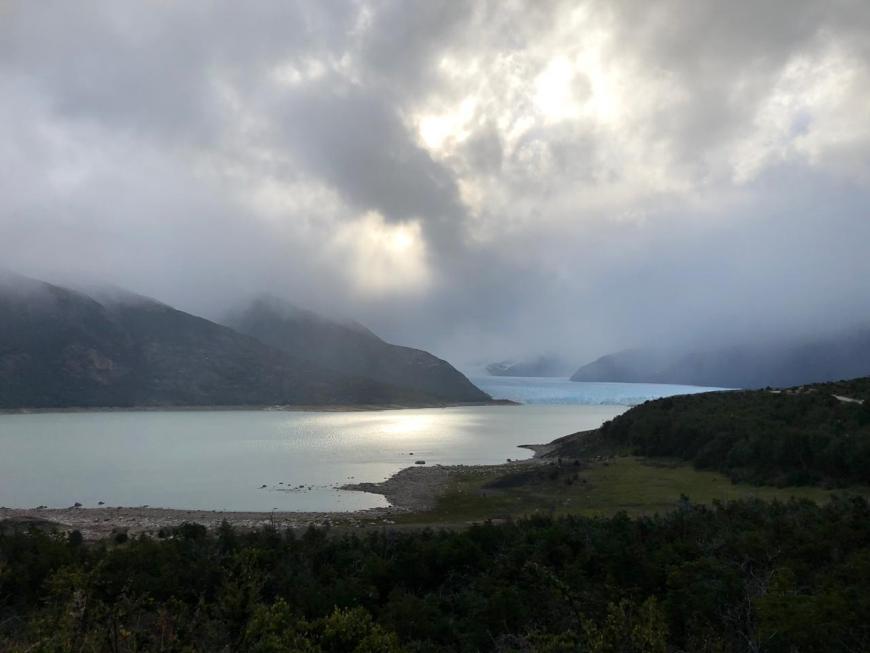 Glaciar Perito Moreno de longe