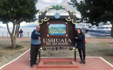 Família VVMM no Ushuaia