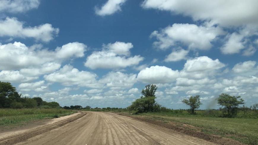 estrada de chão na argentina