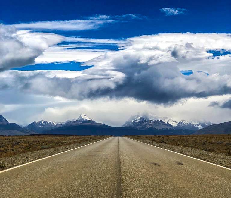 estrada el Chaltén