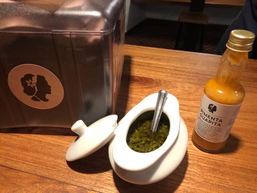 Salsa verde e pimenta Guapita