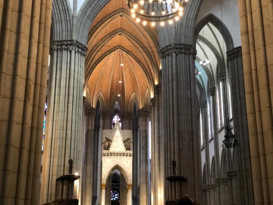 Catedral da Sé por dentro