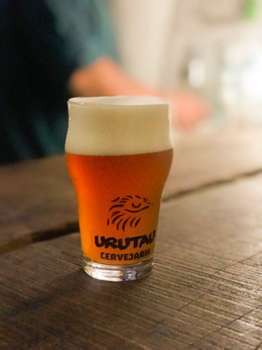 Cerveja Urutau geladinha