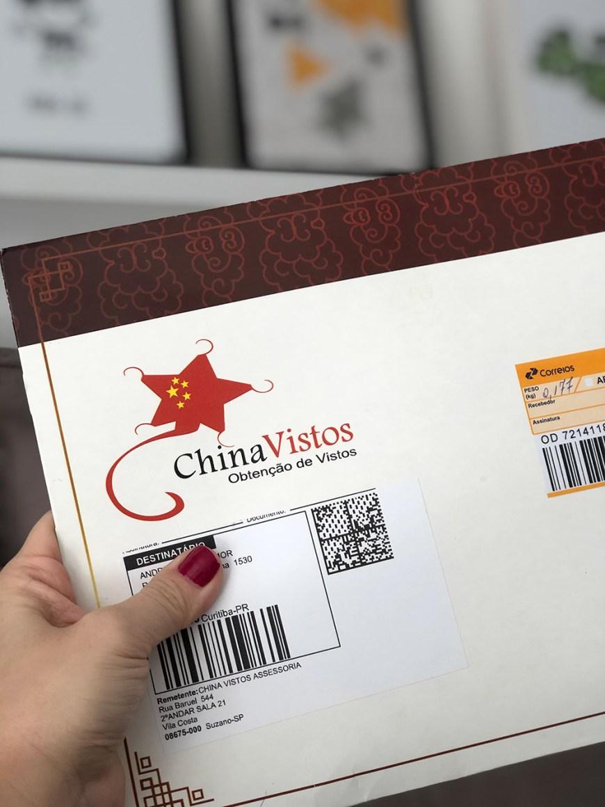 Parceria China Vistos