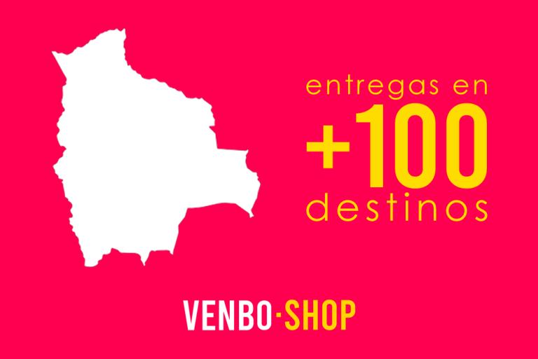 Llegamos a más de 100 lugares distintos en toda Bolivia
