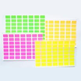 Etiquetas auto-adhesivas, paquete de 10 unidades