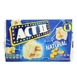 Pipocas de maíz para microondas ACT II (unidades sueltas)
