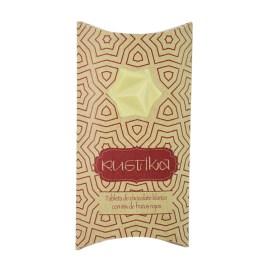 Tableta de chocolate blanco RUSTIKA con mix de frutos rojos
