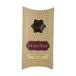 Tableta de chocolate RUSTIKA 65% puro cacao con nibs