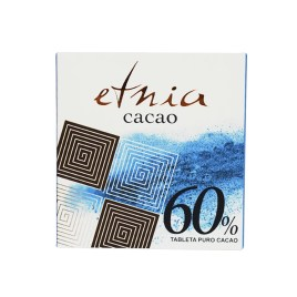 Tableta de chocolate ETNIA CACAO 60% puro chocolate