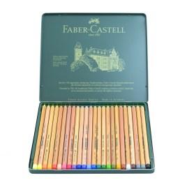 Pitt Pastel estuche con 24 lápices de colores Faber-Castell