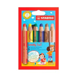 Colores Woody Stabilo x6