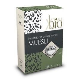Insuflado de quinua y arroz BIO XXI Muesli sin gluten
