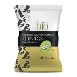 Rulitos insuflados de quinua y arroz BIO XXI Quinitos Orégano sin gluten