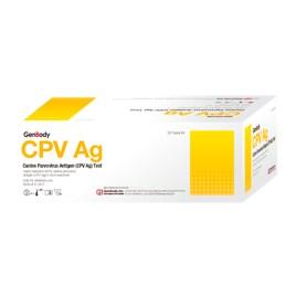 Prueba rápida de parvovirus canino Genbody CPV Ag, caja de 20 unidades